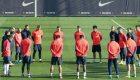 El Barça guarda un minuto de silencio por la tragedia de Medellín