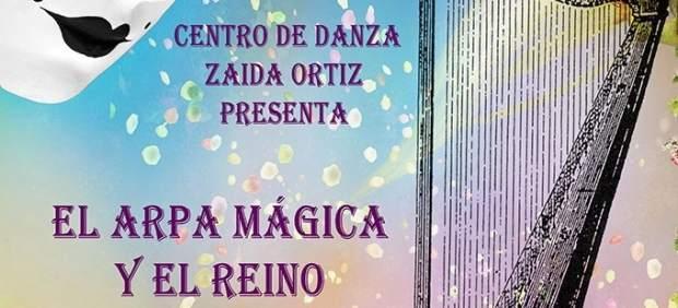 Cartel de la obra 'El arpa mágica y el reino de Serafín'