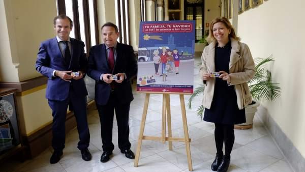 Campaña Navidad EMT Maeso gerente Miguel Ruiz