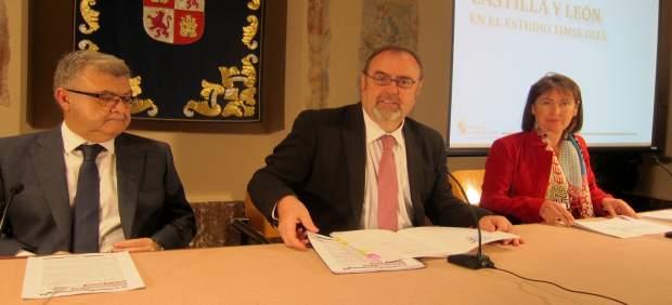 Fernando Rey, feliz tras los resultados del estudio TIMSS.