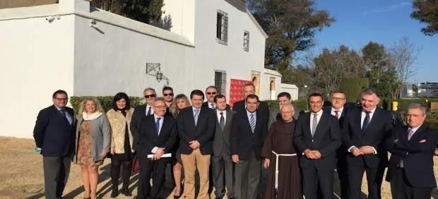 La Sala de Gobierno del TSJA se reúne en La Rábida y se une al 525 aniversario.