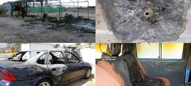 La Guardia Civil Detiene Al Presunto Autor De Medio Centenar De Incendios En El
