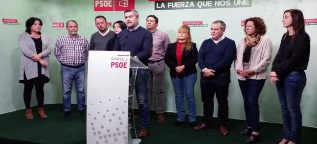 Los socialistas hablan sobre Galasa en su sede provincial