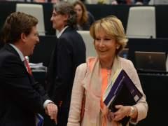 Esperanza Aguirre asegura que el PP llevará a los tribunales el corte al tráfico de la Gran Vía