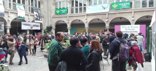 Uno de los espacios de la I Feria de Turismo Sostenible 'Naturaleza Viva'.
