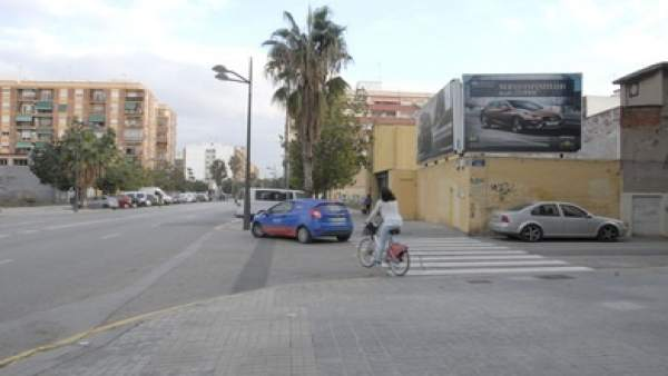Arranquen les obres del carril bici que connectarà Malilla amb el centre de la ciutat de València