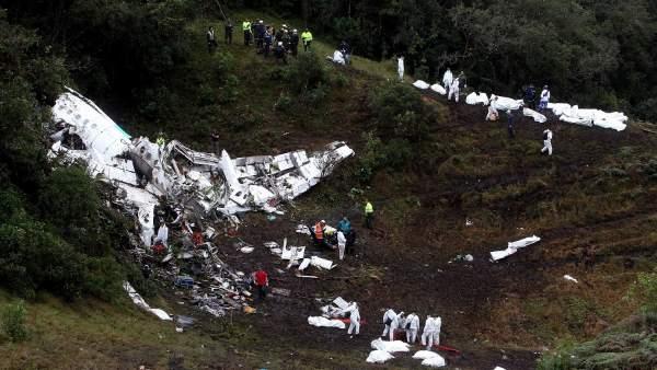 Trágico accidente de avión en Medellín