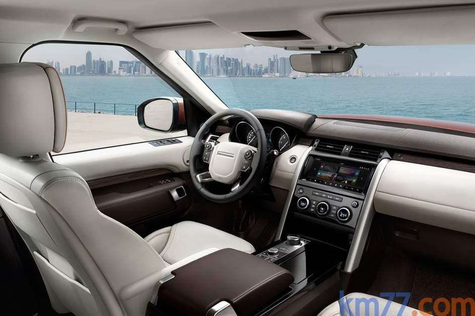 Aspecto interior del Land Rover Discovery