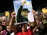 Multitudinario homenaje a Fidel Castro en La Habana