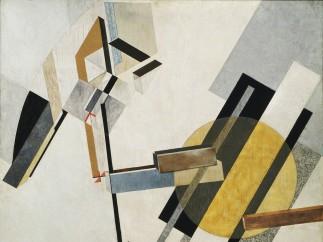 El Lissitzky (Russian, 1890–1941). Proun 19D. 1920 or 1921