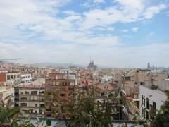Vista de Barcelona.