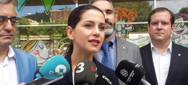 La líder de C's en Catalunya, Inés Arrimadas.