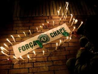 Homenaje al Chapecoense