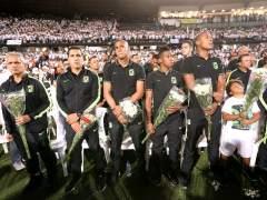 Impresionante tributo al Chapecoense en el estadio de Medellín