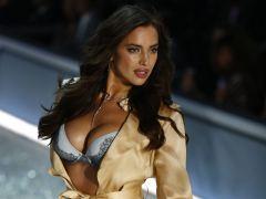 Irina Shayk podría haber desfilado embarazada para Victoria's Secret