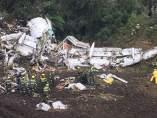 Avión siniestrado de Lamia