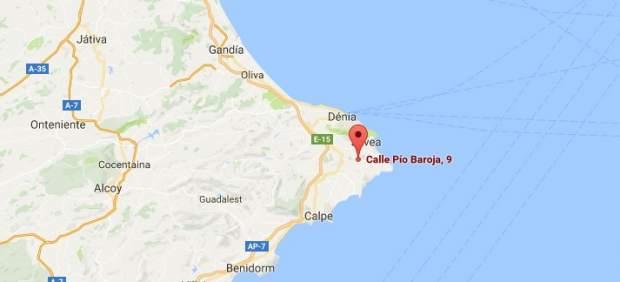 Urbanización La Lluca, Xábia (Alicante)