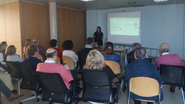 Presentación del programa Promoción de la Salud en los Lugares de Trabajo.