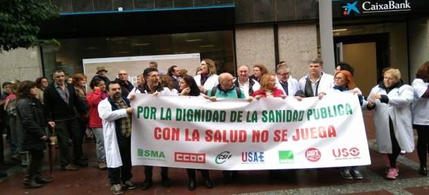 Protestas sanitarias en Algeciras