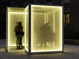 El cubo Suyt de Inditex