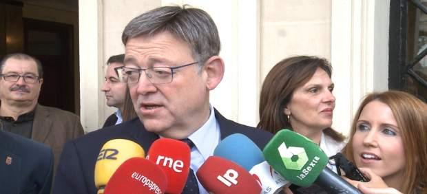 Puig atendiendo a los medios de comunicación en imagen de archivo