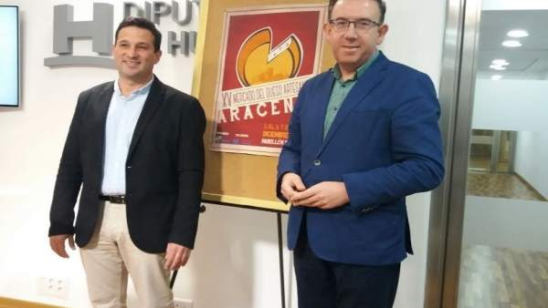 El alcalde de Aracena presenta la XV de la feria del queso.
