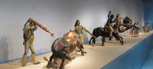 Parte de la exposición del Museo Nacional de Escultura