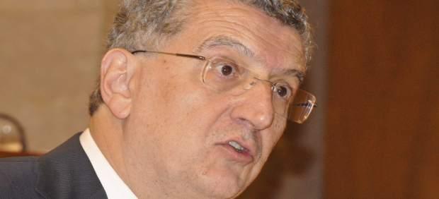El consejero de Sanidad del Gobierno de Aragón, Sebastián Celaya