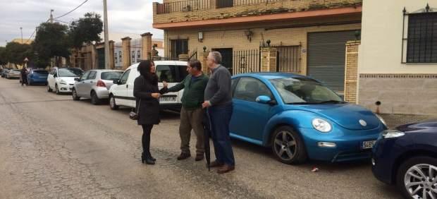 Evelia Rincón visita el Camino de Los Rojas
