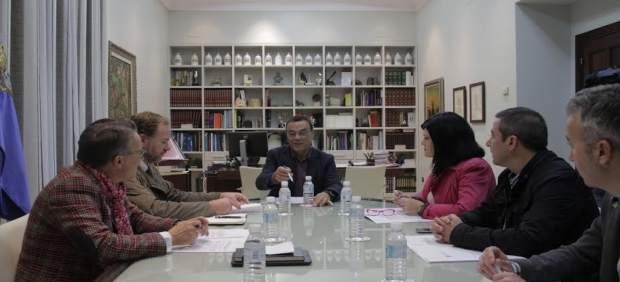 Reunión del Patronato del Turismo de Huelva.