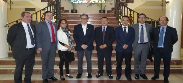 MArbella se reúne con un grupo empresariual chino