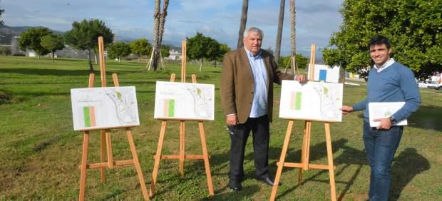 Presentacion proyecto bulevar verde en Vélez