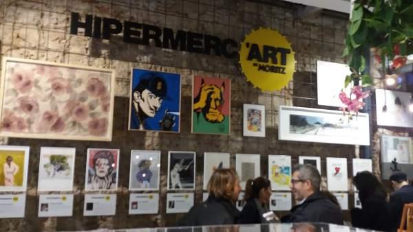 Hipermerc'art en la fábrica Moritz.