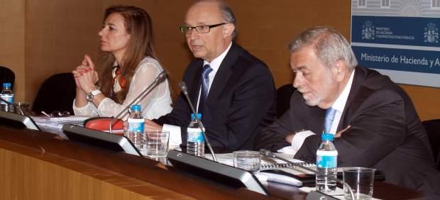 El ministro de Hacienda, Cristóbal Montoro, en el CPFF