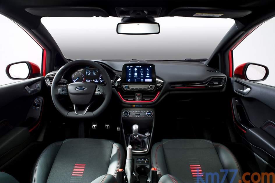 Aspecto interior del Ford Fiesta