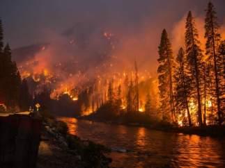 Incendio en Gatlinbug, Tennessee