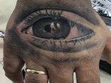 El ojo de la hija de Kiko Rivera