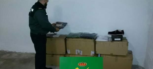 Detenidos en Verín por delito contra propiedad intelectual.