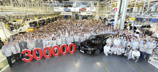 Vehículo 300.000 de la factoría de Palencia.