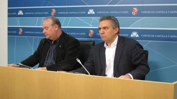José Francisco Martín (izquierda) y Javier Izquierdo (derecha)