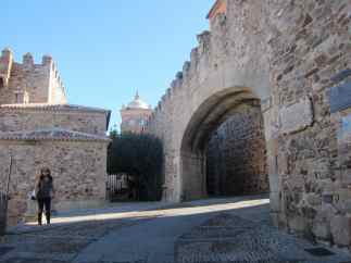 Arco de la Estrella de Cáceres