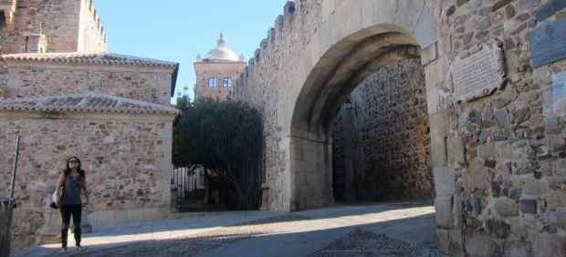 El rodaje de Juego de Tronos llega al centro de Cáceres