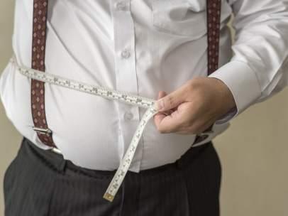 Obesidad en los hombres.