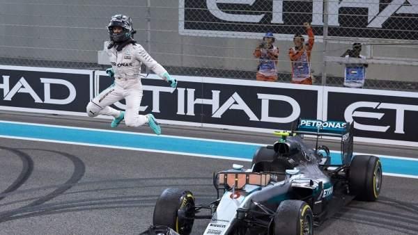 Nico Rosberg, campeón mundo Mundial F1 Abu Dabi