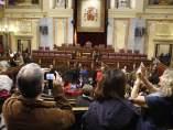 Los ciudadanos visitan el Congreso en la jornada de puertas abiertas