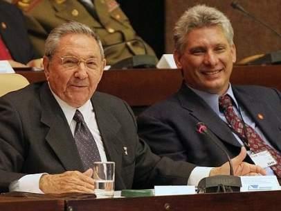Raúl Castro y Díaz-Canel