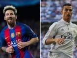 Messi y Cristiano