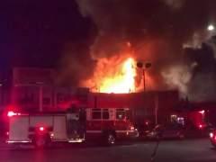 Al menos nueve muertos y 25 desaparecidos en un incendio en un concierto