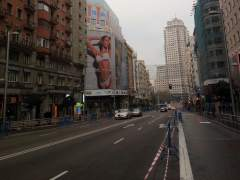 """Carmena agradece hacer Madrid más """"vivible y paseable"""" tras el corte al tráfico de Gran Vía"""