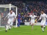 El Madrid celebra el 1-1